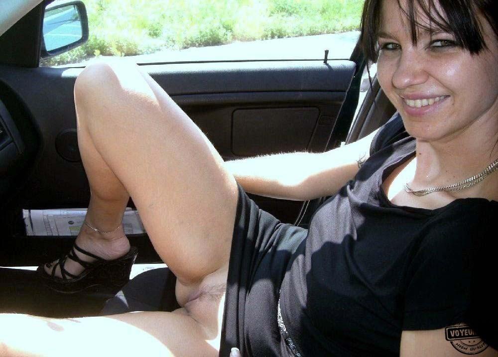 Funny In Car - Voyeur Videos-5698