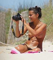 Sexy Beach Topless