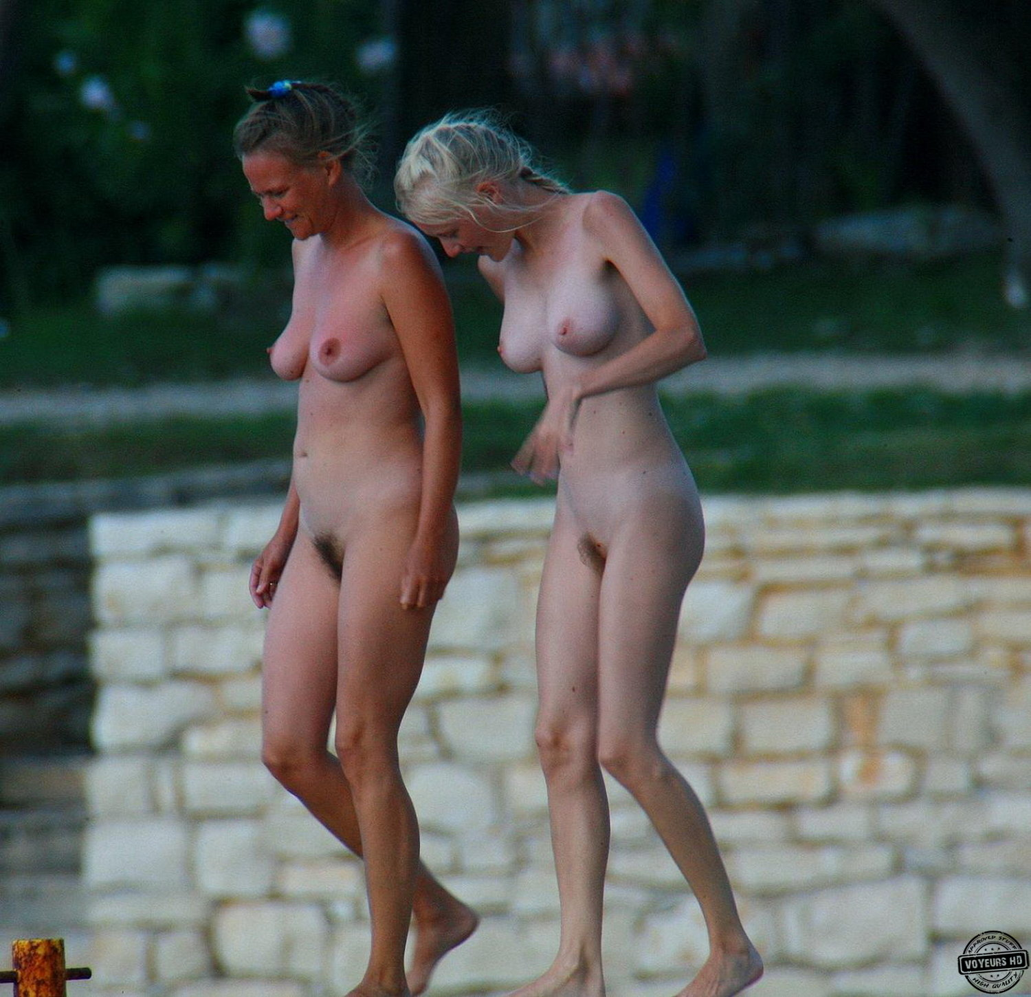 brother sister naked candid