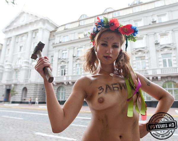 ню фото украинских девушек