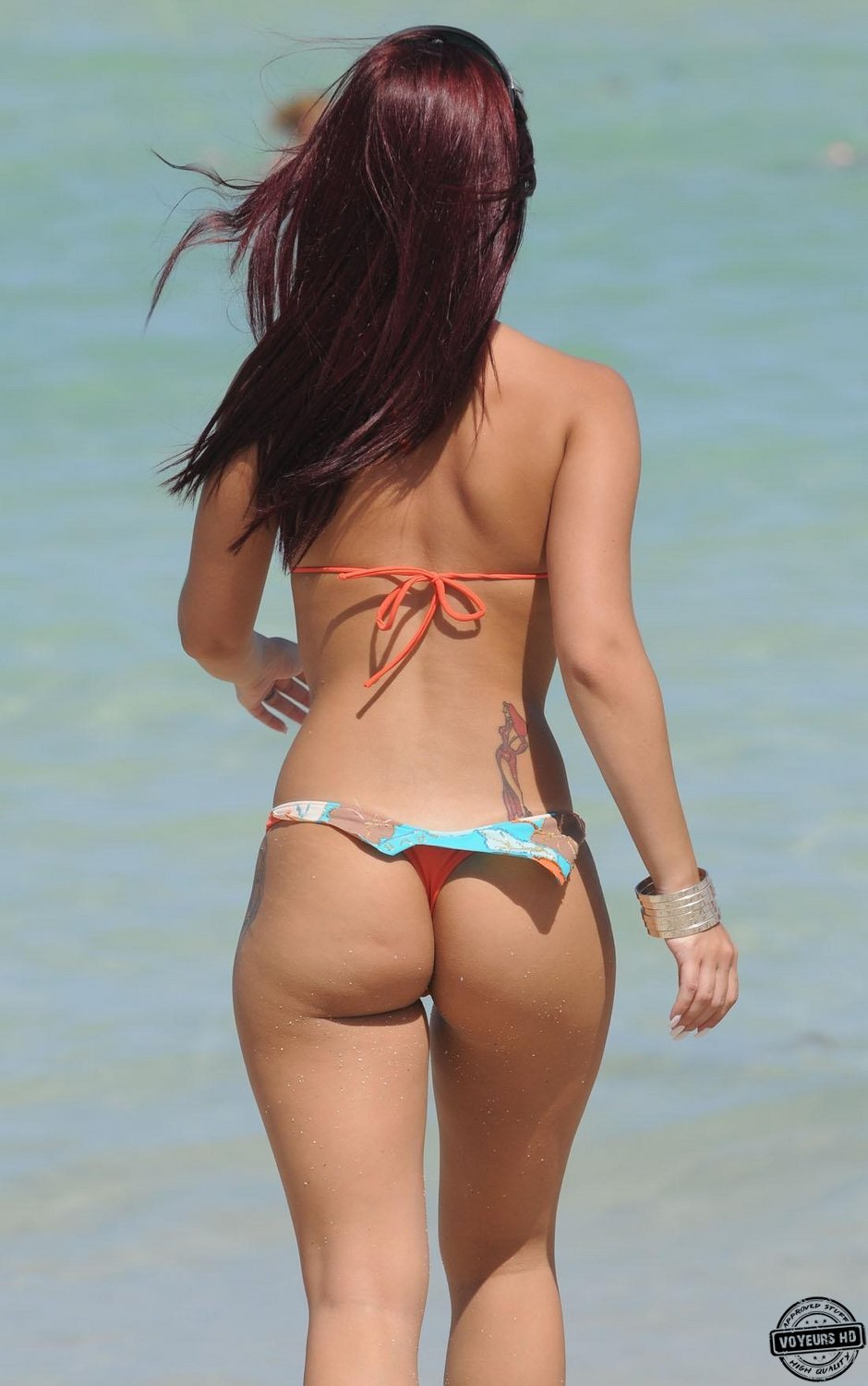 Big asses in thongs