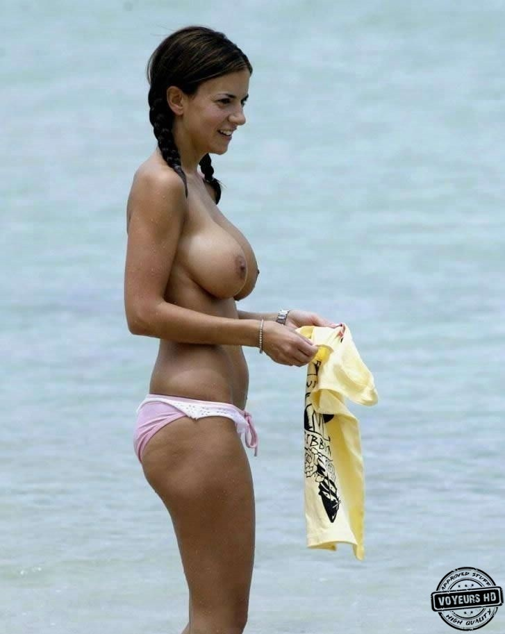 Perfect beach tits