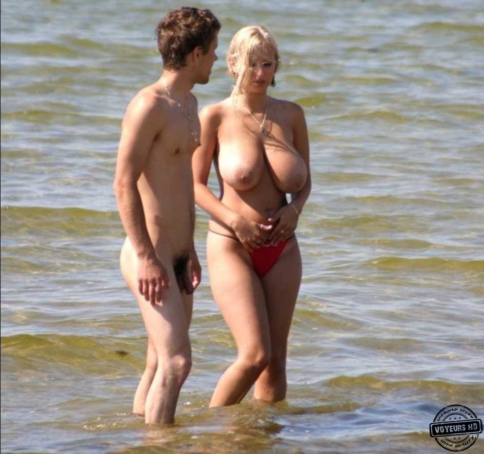 Having sex in the beach perfect tits