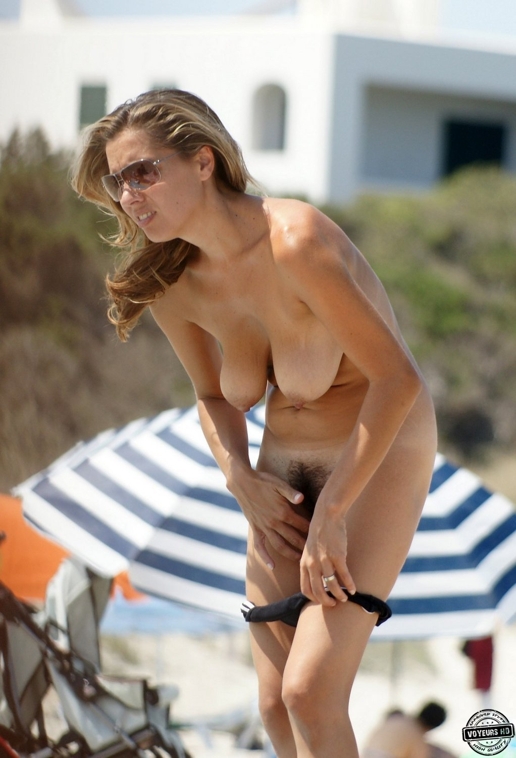 Bikini Bottoms Off - Voyeur Videos-2619