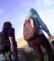 Candid Highschool Asses