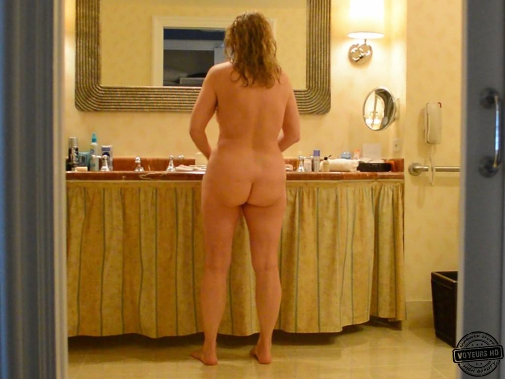 image Bathroom window full nude quick show