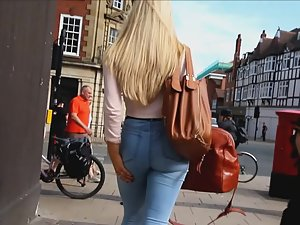 Blonde makes voyeur video look like romantic movie