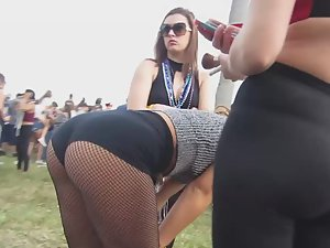 Hottest ass of the entire festival