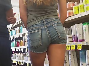 Fixation on hot young butt