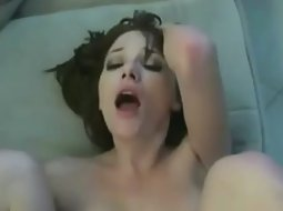 Little shaved pussy got fucked
