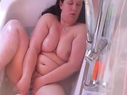 Chubby girl texting naked pics