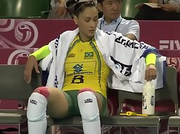 Cameltoes of hot volleyball girls