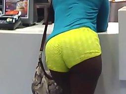 Big ass of a black woman