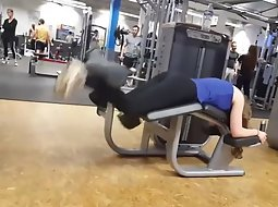 Hot ass of a girl that works out