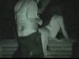 College couple has sex in the park
