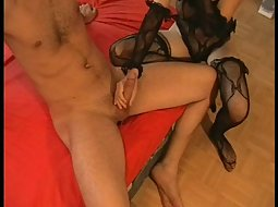 amateur girl in very sexy stockings
