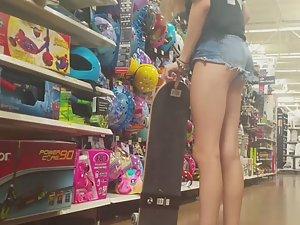 Sexy pussy slip