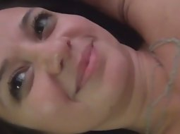 Pretty girl close up fuck in the ass