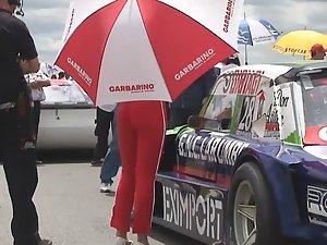 I'd stand under her umbrella