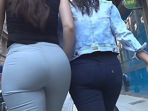 Business woman got a nice plump ass