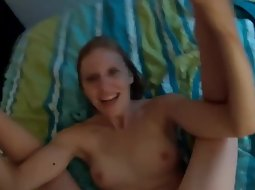 This girl is a real screamer in sex