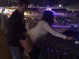 Sex in public gets filmed by girl's friend