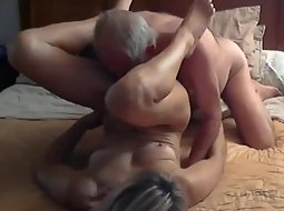 Licking and fucking a hot milf