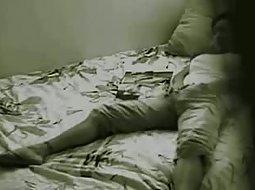 Girl masturbating wildly