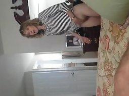 He filmed her pussy
