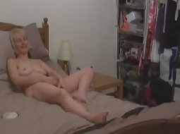 Mother got horny after the shower