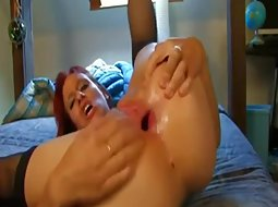 Hot ass fucked until it gaped