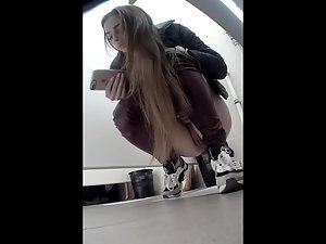 Spy Pissing Women