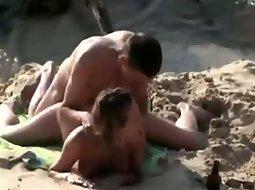 She enjoys a fuck on the beach
