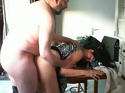 Exotic wife loves his fat penis