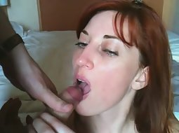 She pleases her younger lover