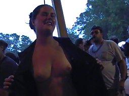 chubby slut in a carneval
