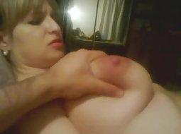 Busty slut gets fucked hard