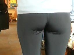 Cute ass of a petite girl