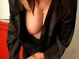 Wife tits fall out of her robe