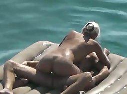 Sex on an air matress
