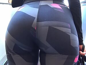 Fabulous bubble butt is clearly made in the gym