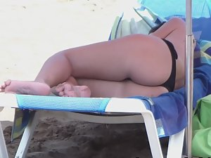Beach pose made for spooning