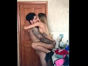 Sex fail in an unusual sex pose