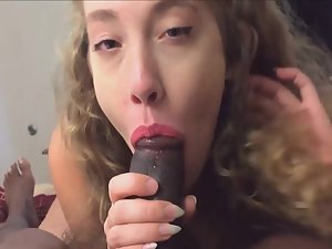 Young hairy pussy stuffed with black dick
