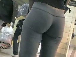 Pretty tight ass in the subway