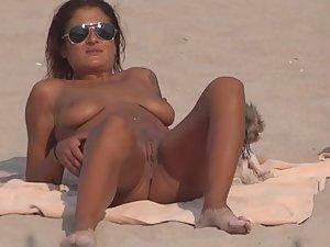 Nudist girl snaps many sexy selfies
