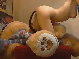 Jumbo teddy bear fucks a girl things