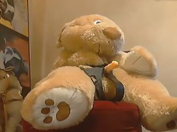 Girl Fucks A Teddy Bear