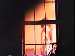 Filmed from the window