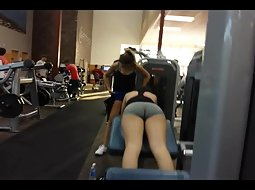 Working out pictures girl voyeur